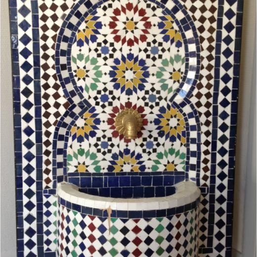 Zellige fountain Agadir - Verkocht / Op bestelling