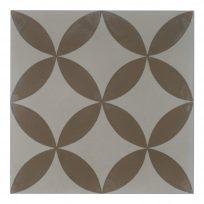 Portugese-tegels-CE-2004-ruit-motief-kleur-print-ster-compleet-geruit-bruin-wit-motiefje-beige-groot