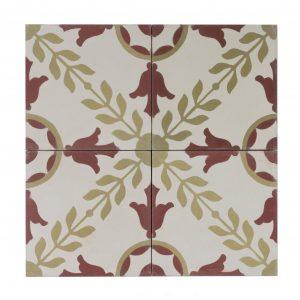Portugese-tegels-CE-2011-ruit-motief-kleur-print-ster-compleet-geruit-rood-krans-beige-wit-motiefje-compleet-helemaal