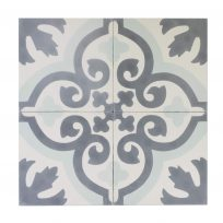 Portugese-tegels-CE-2022-ruit-motief-kleur-print-ster-compleet-geruit-motiefje-groen-wit