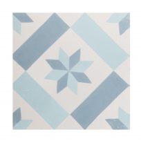 protugese-tegels-CE-2033-print-motief-lichtblauw-blauw-wit-ster