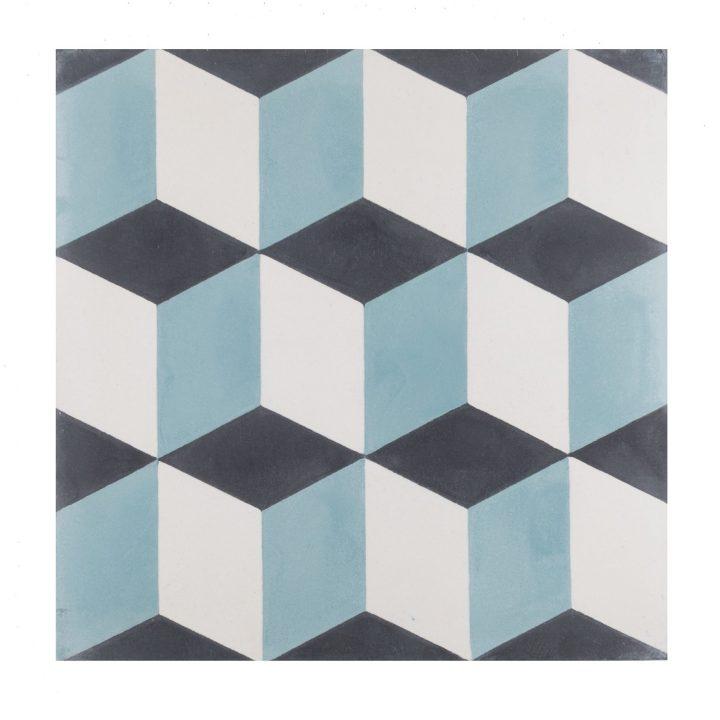 cement-tegels-Ce-2044-4-blauw-blok-pijl-bordeaux-wit-figuur-motief-donkerblauw-lichtblauw-3d