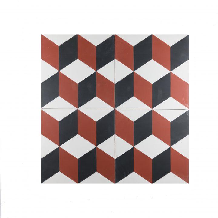 cement-tegels-Ce-2044-4-rood-blok-pijl-bordeaux-wit-figuur-motief-compleet--3