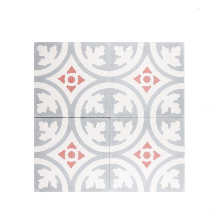 cement-tegels-portugese-tegels-ce-2057-oranje-beige-wit-bloem-print-motief-compleet-2