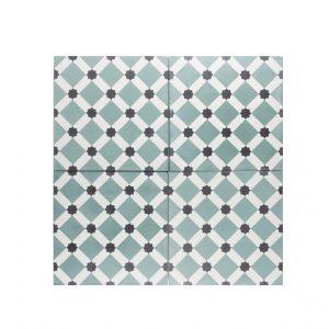 cement-tegels-portugese-tegels-CE-2066-2-blauw-wit-groen-geruit-ruiten-ruit-compleet