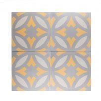 cement-tegels-portugese-tegels-groen-oranje-beige-lichtgrijs-ster-ruit-print-motief-compleet