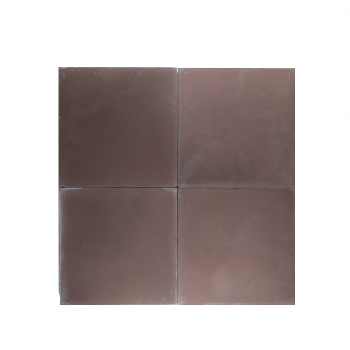 Cement-tegels-portugese-tegels-Ce2073-Aubergine-effen-kleur-donkerbruin-bruin-compleet