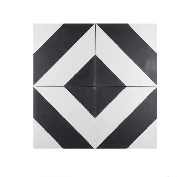 Cement-tegels-portugese-tegels-CE-2074-zwart-wit-geruit-ruit-motief-print-zwart-wit-compleet-2