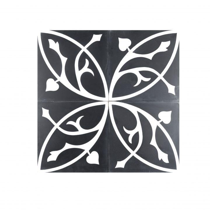 cement-tegels-CE-2076-zwart-wit-bloem-motief-kleur-print-mooi-compleet