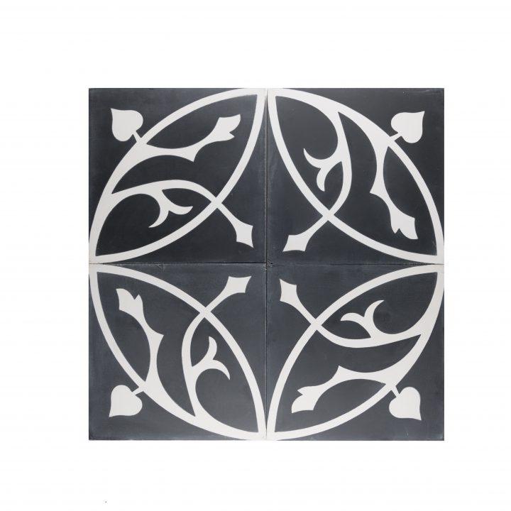 cement-tegels-CE-2076-zwart-wit-bloem-motief-kleur-print-mooi-compleet-2