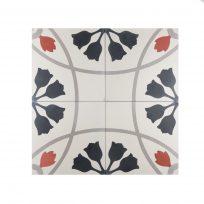 portugese-tegels-CE-2082-cement-tegels-bloem-zwart-oranje-lichtgroen-beige-tulp-compleet-3