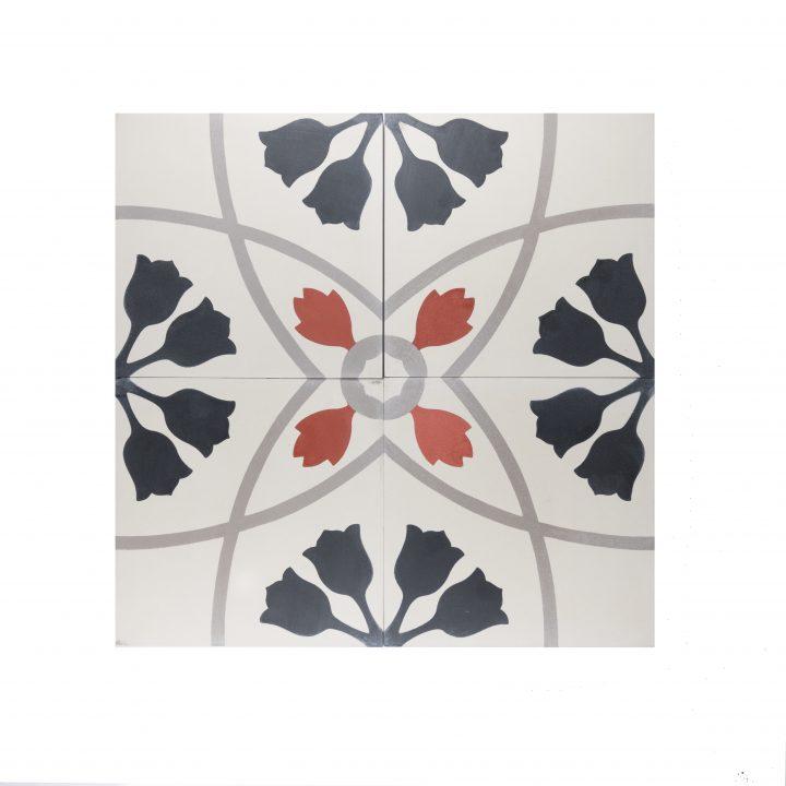 portugese-tegels-CE-2082-cement-tegels-bloem-zwart-oranje-lichtgroen-beige-tulp-compleet-2