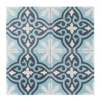 s-CE-2091-ruit-motief-kleur-print-ster-compleet-geruit-motiefje-wit-blauw-hoek