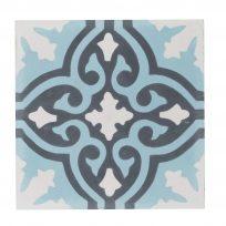 s-CE-2091-ruit-motief-kleur-print-ster-compleet-geruit-motiefje-wit-blauw-zwart-