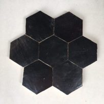 Zelliges-Hexagon-zwart-HX0902