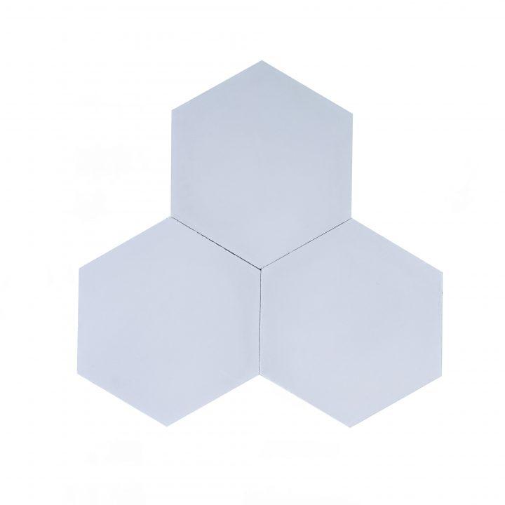 Cement-tegels-HX01-wit-grijs-lichtgrijs-effen-hexagon-4
