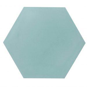 Cement-tegels-hexagon-lichtblauw-groenachtig-HX-c09