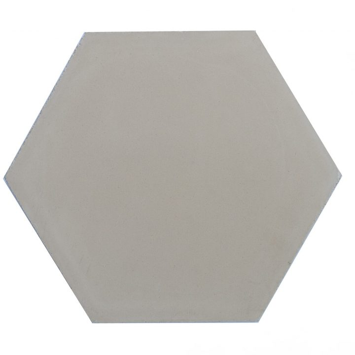 Cement-tegels-HX-C12-beige-effen-hexagon-groot