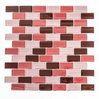 XCM-B877-mozaiektegel-mozaiekjes-rood-roze-pink-lichtroze-bordeaux