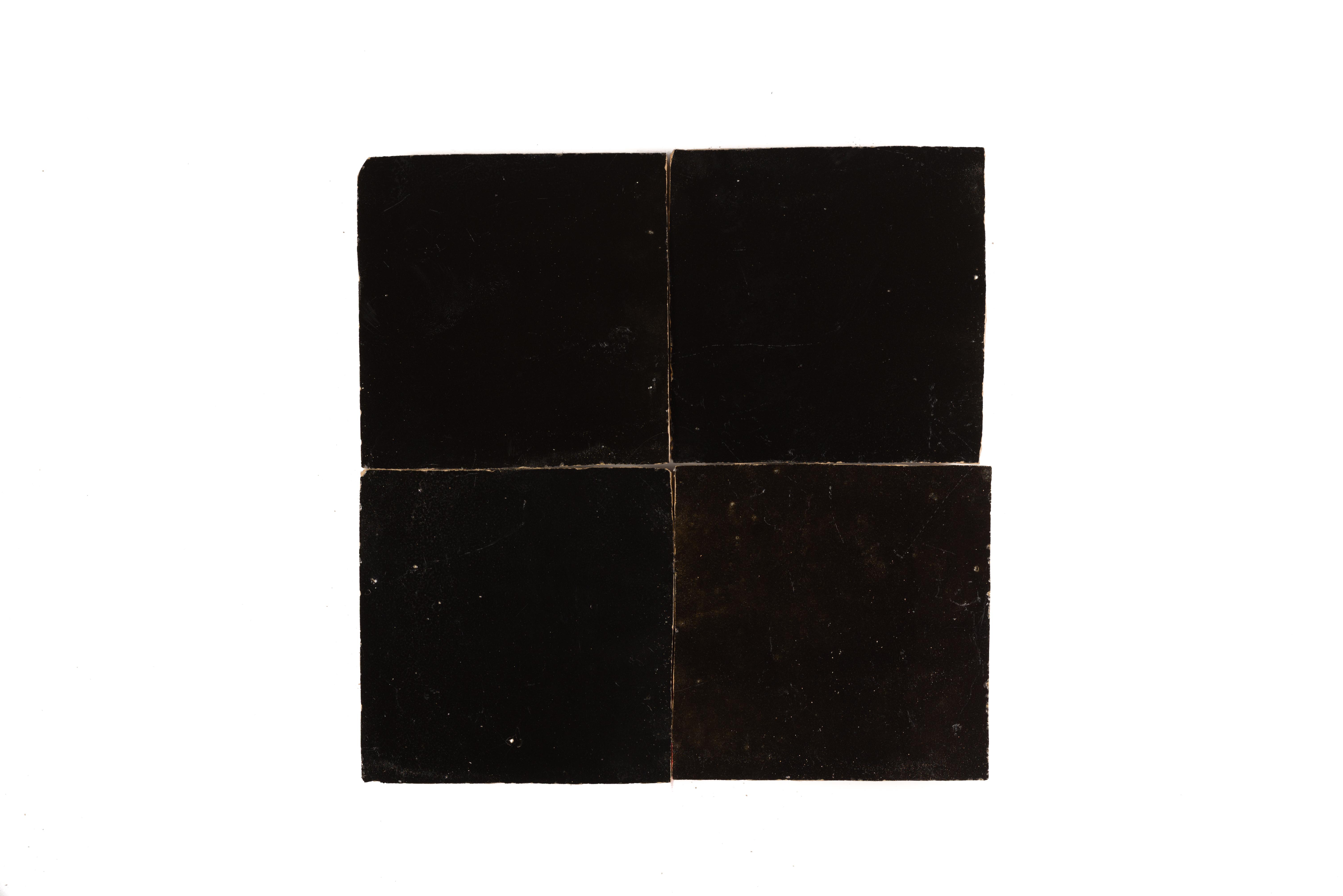 Marokkaanse Tegels Outlet : Zr rabat black glossy mozaiekjes diverse soorten tegels