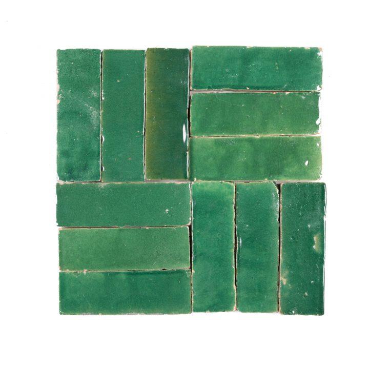 Zelliges-bejmat-BE08-donkergroen-groen-marokkaanse-tegels